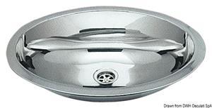 Lavello inox ovale 510 x 390 mm [Osculati]