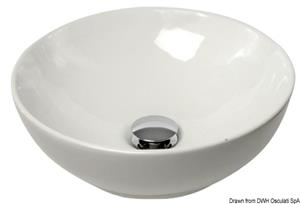 Lavello semisferico ceramica 365 mm [Osculati]