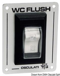 Interruttore WC Flush [Osculati]