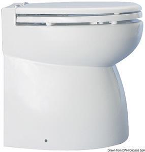 WC elettrico porcellana 12 V alto [Osculati]