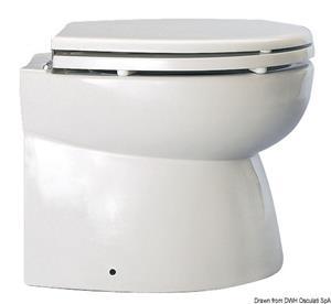 WC Silent Elegant 12 V posteriore dritto [Osculati]