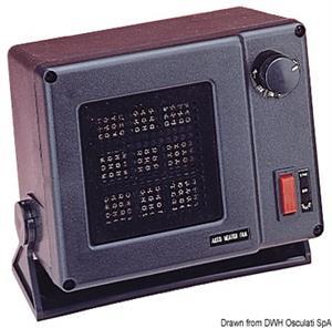 Riscaldatore elettronico ad aria forzata 12V 300W  [OSCULATI]