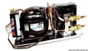 Unità refrigerante ISOTHERM by Indel Webasto Marine Secop completa di evaporatore ventilato VE150 [Isotherm]