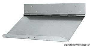 Coppia lame flap inox 55 x 23 cm [Douglas marine]