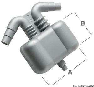 Separatore acqua/gas 2,5 l [-]
