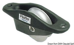Bozzelli da incasso PFEIFFER in alluminio [Pfeiffer]