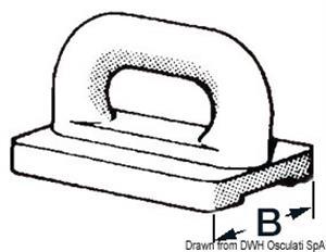 Cursori nylon randa 16 mm [Osculati]