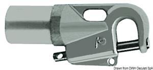 Attacco tangone lega leggera 65x60 mm [Osculati]