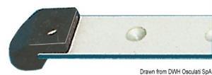 Terminale rotaia nylon [Viadana]