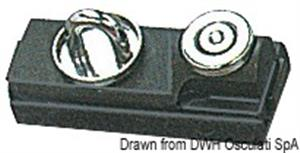 Passascotte per rotaia 25/26 mm [Viadana]