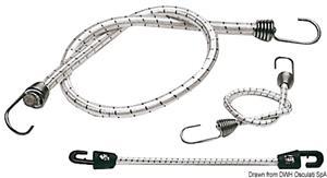Cavo elastico con gancio inox 800x10 mm [Osculati]