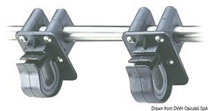 Supporto porta cima con morsetto 22/25mm  [OSCULATI]