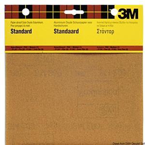 Carta abrasiva grane assortite (5 pz)  [3M]