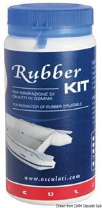 Rubber kit bianco per neoprene