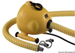 Gonfiatore elettrico 220 V 1600 l/min 600 W [Scoprega]