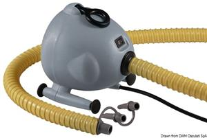 Gonfiatore elettrico 220 V 1700 l/min 1000 W [Scoprega]