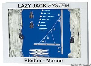 Kit Lazy Jack Pfeiffer fino a 30' [Pfeiffer]