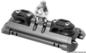 Carrello randa 1 supporto verticale pulegge rinvio [Lewmar]