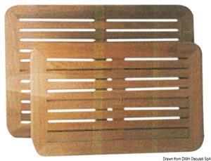 Piani tavolo in teak 45x70 cm [ARC]