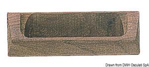 Maniglia teak 87x30  [ARC]