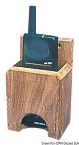 Porta VHF teak 132x73x43 mm [ARC]