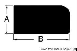 Profilo teak 9x18  [OSCULATI]