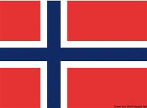 Bandiera Norvegia 20 x 30 cm [Osculati]