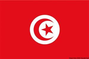 Bandiera Tunisia 40 x 60 cm [Osculati]