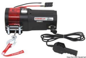 Arganello elettrico 1134 Kg 600W 12V [Comeup Industries]
