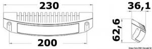 Faretto a LED per plancette, specchi di poppa, fly-bridge [Labcraft design]