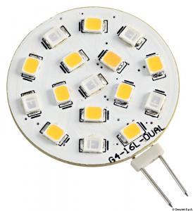 Lampadina LED SMD bianco blu 24V [Osculati]