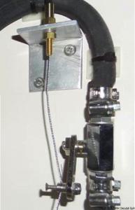 Staffa per il comando flessibile a distanza 17.450.90/91 [Osculati]
