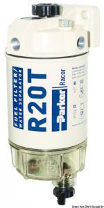 Filtro separatore acqua/carburante Racor 114 l/h [Incofin]