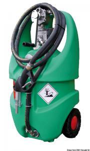 Serbatoio per benzina con ruote 55 l omologato ADR [Osculati]