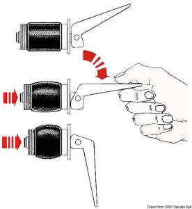 Tappo espansione Ottone 42 mm [Osculati]