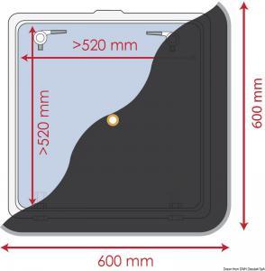 Tendina oscurante 600 x 600 mm [Waterline Design]
