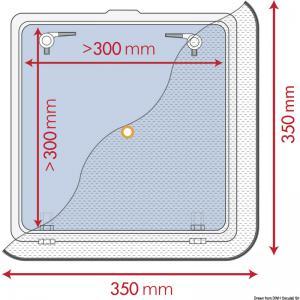 Zanzariera 350 x 350 mm [Waterline Design]
