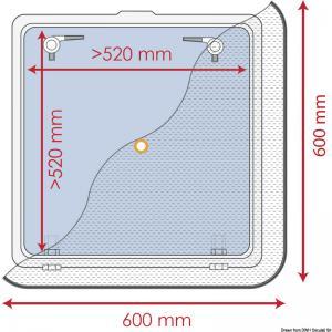 Zanzariera 600 x 600 mm [Waterline Design]