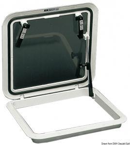 Passouomo Bomar Flushdeck nero 480 x 480 mm