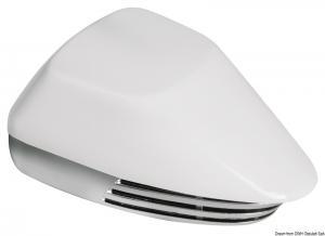 Tromba ABS cromato e bianca 12 V
