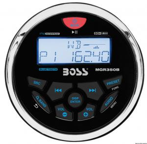 Radio FM/AM/Bluetooth/USB/MP3 da cruscotto BOSS [Boss Marine]