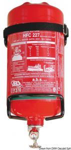 Estintore Easy Fire con pressostato 6 kg [n/a]