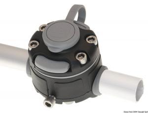 Lock per fissaggio su tubo Ø30/32 nero [Borika Fasten]