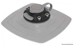 Lock con base PVC flessibile 140x140 mm [Borika Fasten]