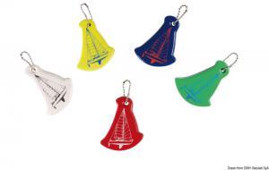 Portachiavi vela colori misti (confezione 10 Pz assortiti) [Osculati]