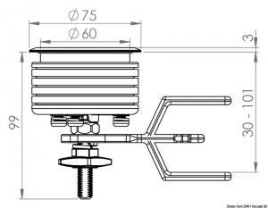 Alzapagliolo Eclipse MK2 75 mm [Osculati]