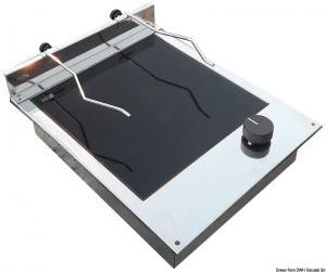 Piano cottura vetroceramica 1+1 fuoco [Techimpex]