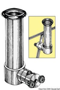 Portacanna pulpito inox 20/30 mm