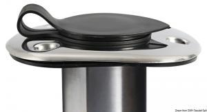 Portacanne incasso inox 42 mm 90° [Osculati]