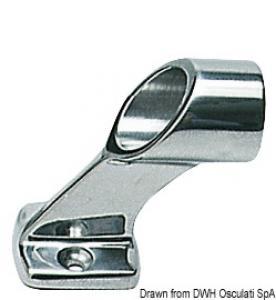 Centrale corrimano inox 25 mm [Osculati]